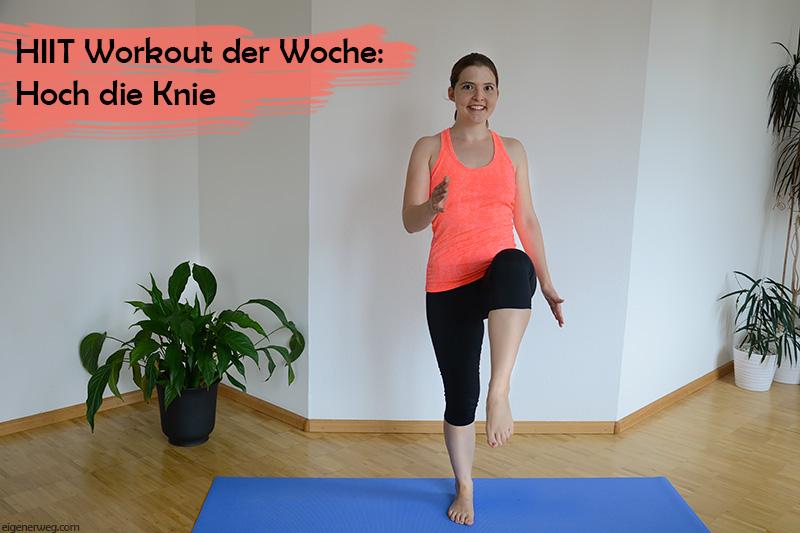 HIIT – Workout der Woche: Hoch die Knie
