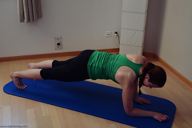 gerader Plank Varianten