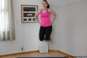 plyometrische Übung