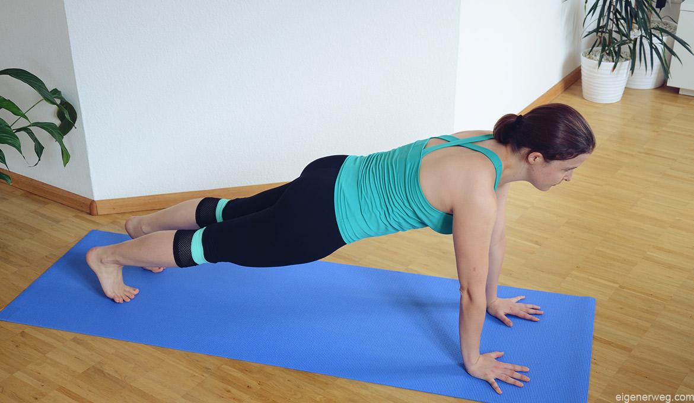 5 typische Fehler beim Plank und wie Du sie vermeidest