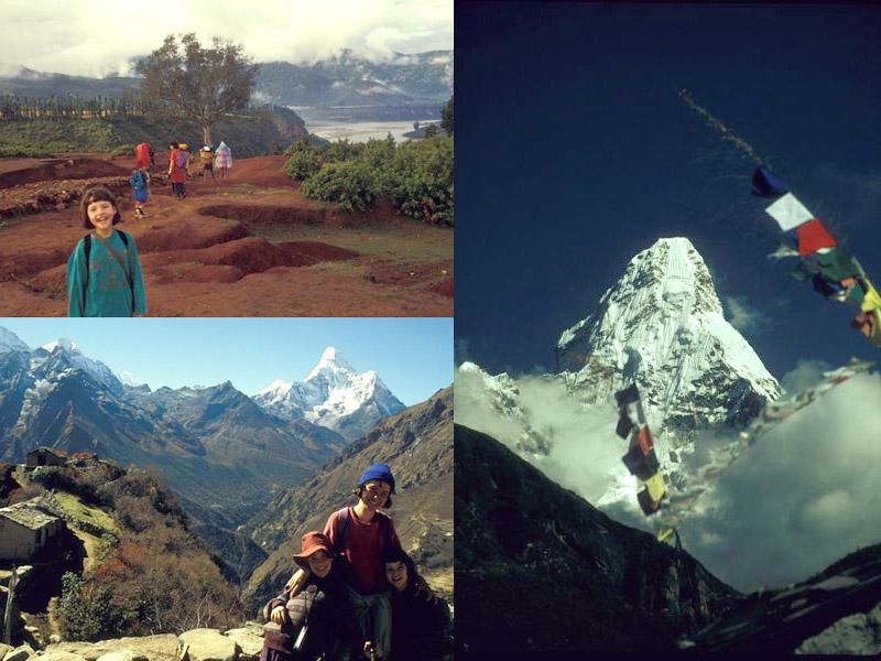 Von meiner wunderschönen Kindheit im Himalaya...