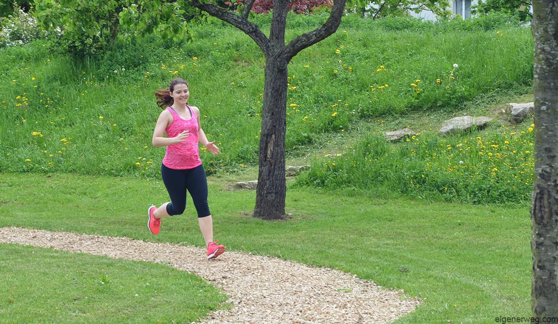 Laufen Joggen Rennen Natur