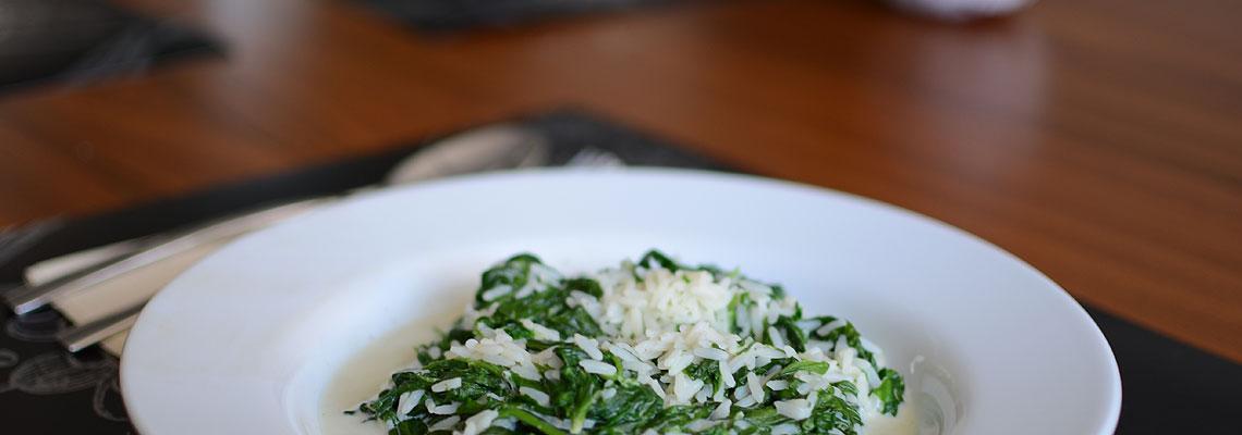 Schnell & Leicht: Grüner Reis