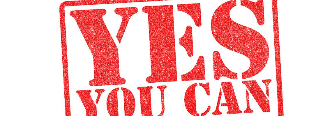Ja – Du kannst!