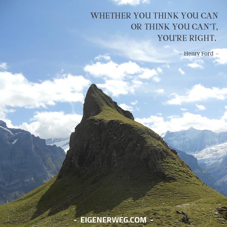 Motivation: Wie wichtig Deine Gedanken sind