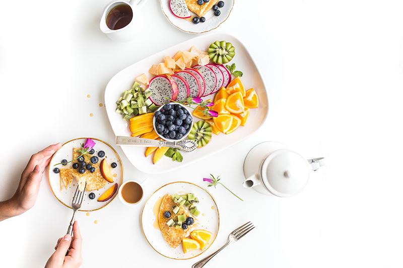 Richtige Ernährung: Vielfalt auf dem Teller