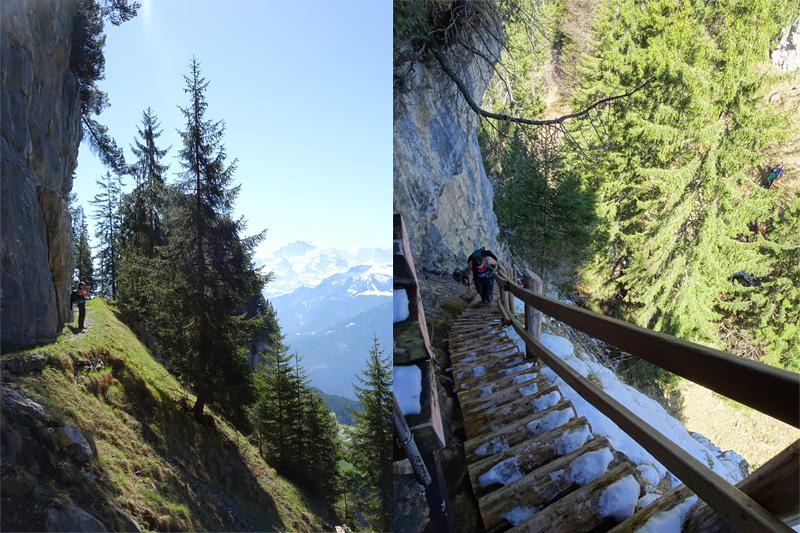 Spektakulärer Aussichtspunkt im Berner Oberland: Die Bireflue