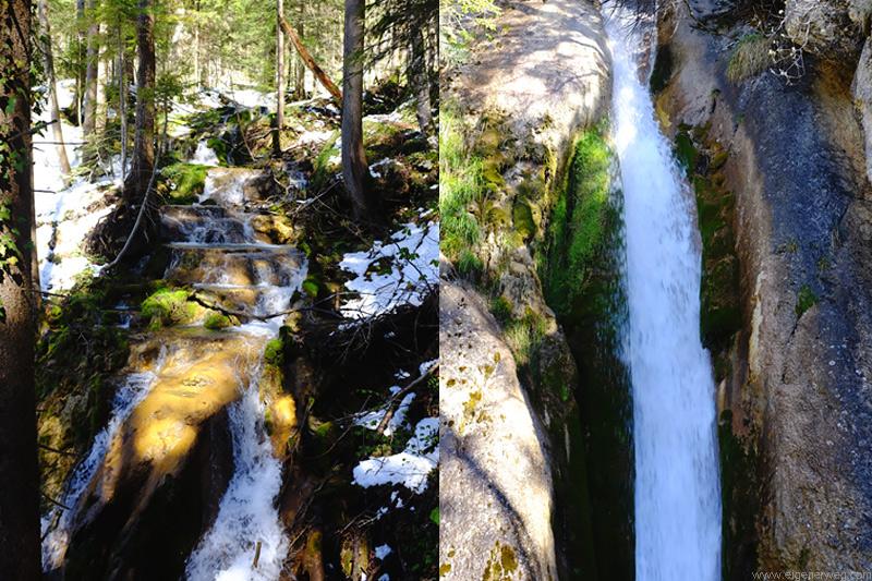 Wasserfälle beim Mont Raimeux