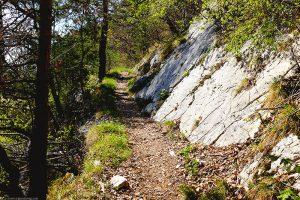 Winterliche Frühlingswanderung mit Mini-Klettersteig: Mont Raimeux