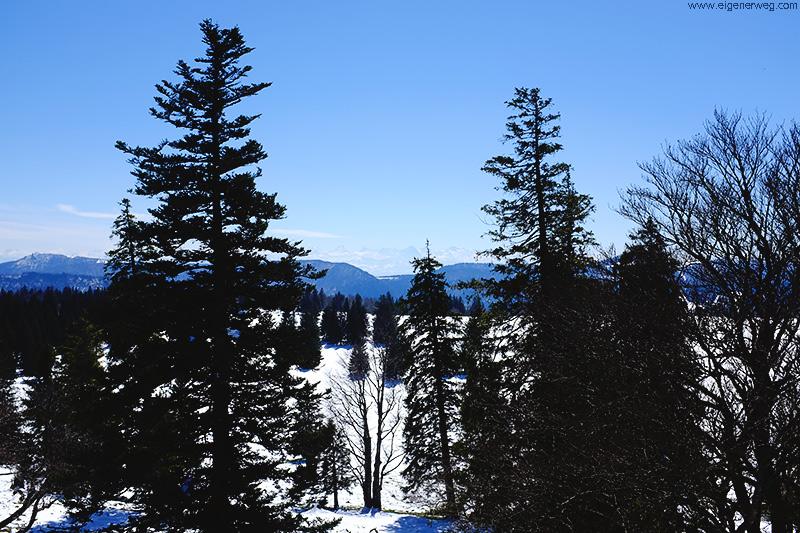 Aussicht vom Mont Raimeux