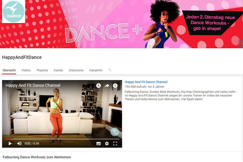 Happy and Fit Dance Channel