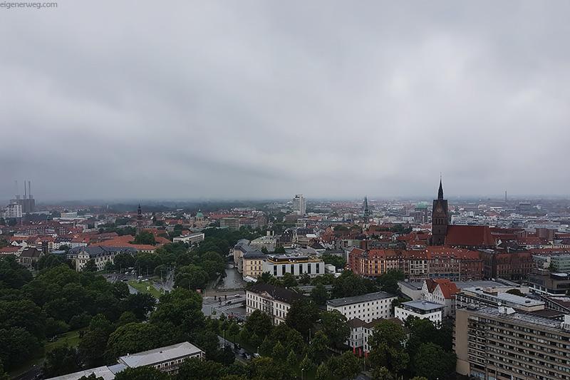 Übersicht über Hannover