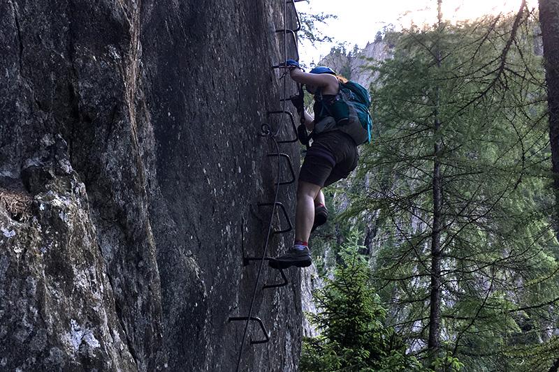 Klettersteig Wallis
