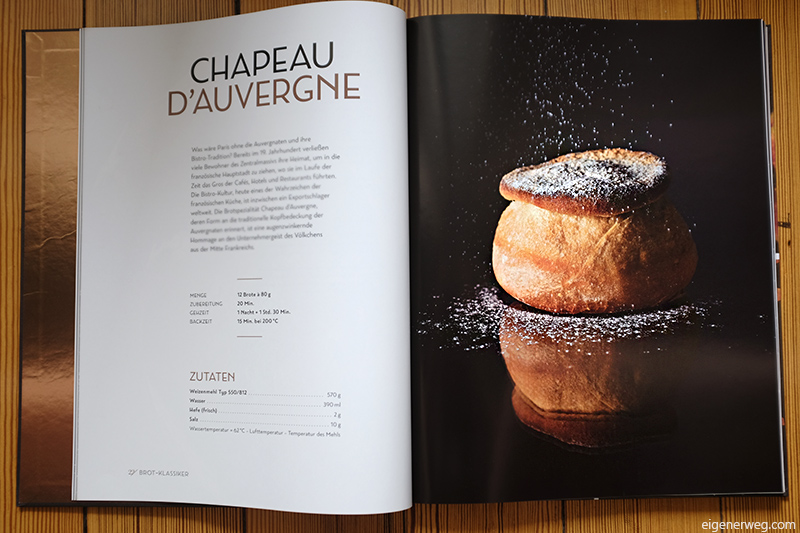 Chapeau d'Auvergne Brotrezept