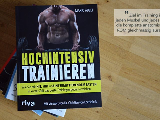 Die Buchwoche: Hochintensiv trainieren