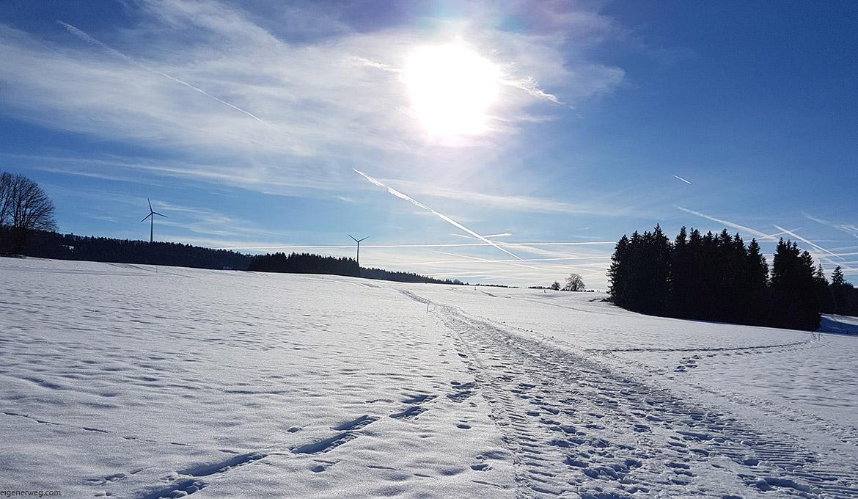 Von Winterwanderwegen und anderen Missgeschicken…