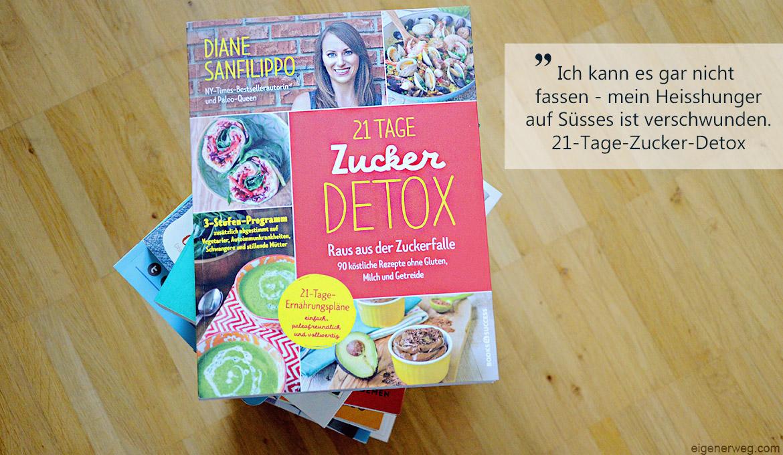 Buchbesprechung: 21 Tage Zucker Detox