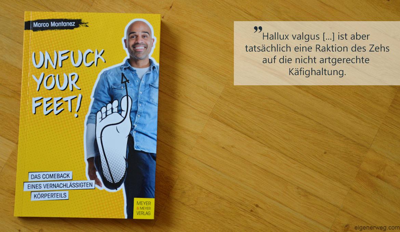 Die Buchwoche: Unfuck your feet!
