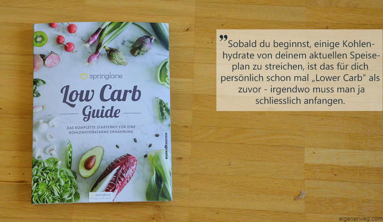 Die Buchwoche: Low Carb Guide