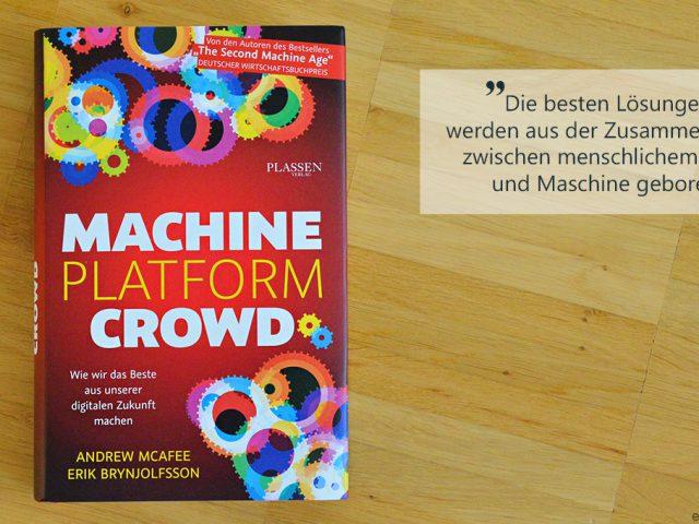 Die Buchwoche: Machine, Platform, Crowd