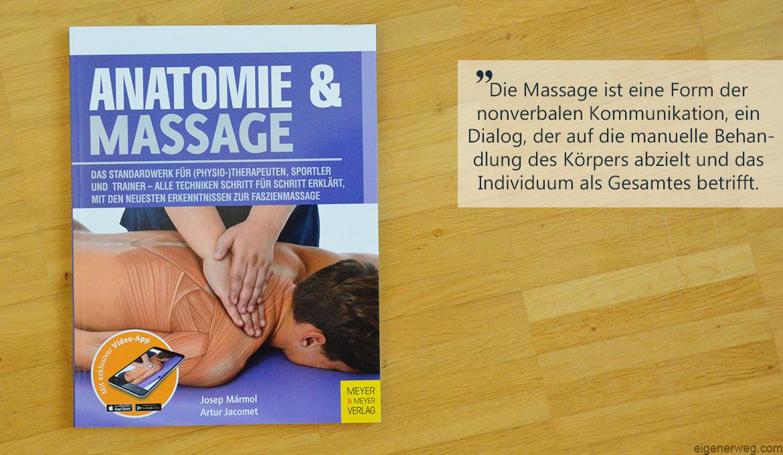 Buchbesprechung: Anatomie und Massage