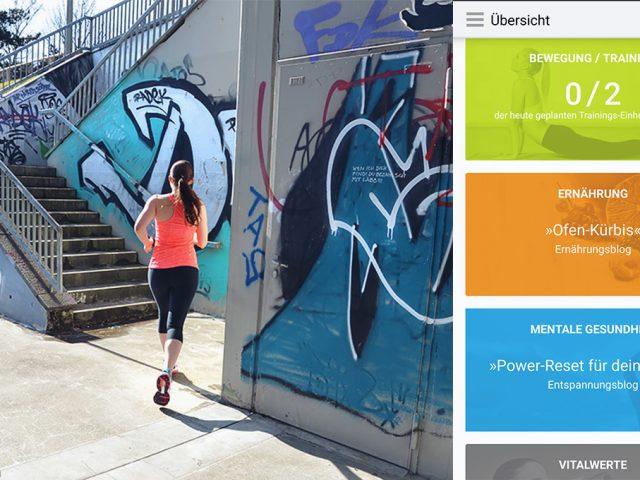 Rundherum gesund – mit der go4health App