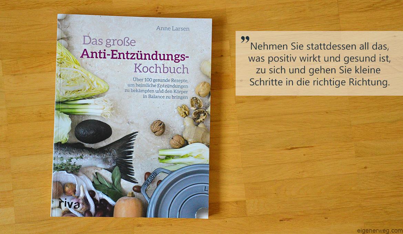 Buchbesprechung: Das grosse Anti-Entzündungs-Kochbuch