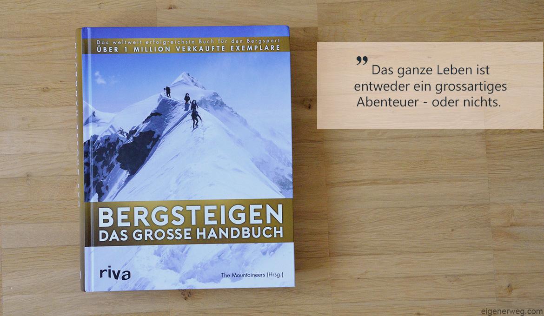 Buchbesprechung: Bergsteigen – das grosse Handbuch