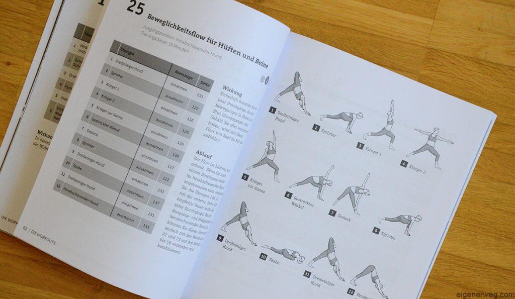 Rezensions 50 Workouts Yoga