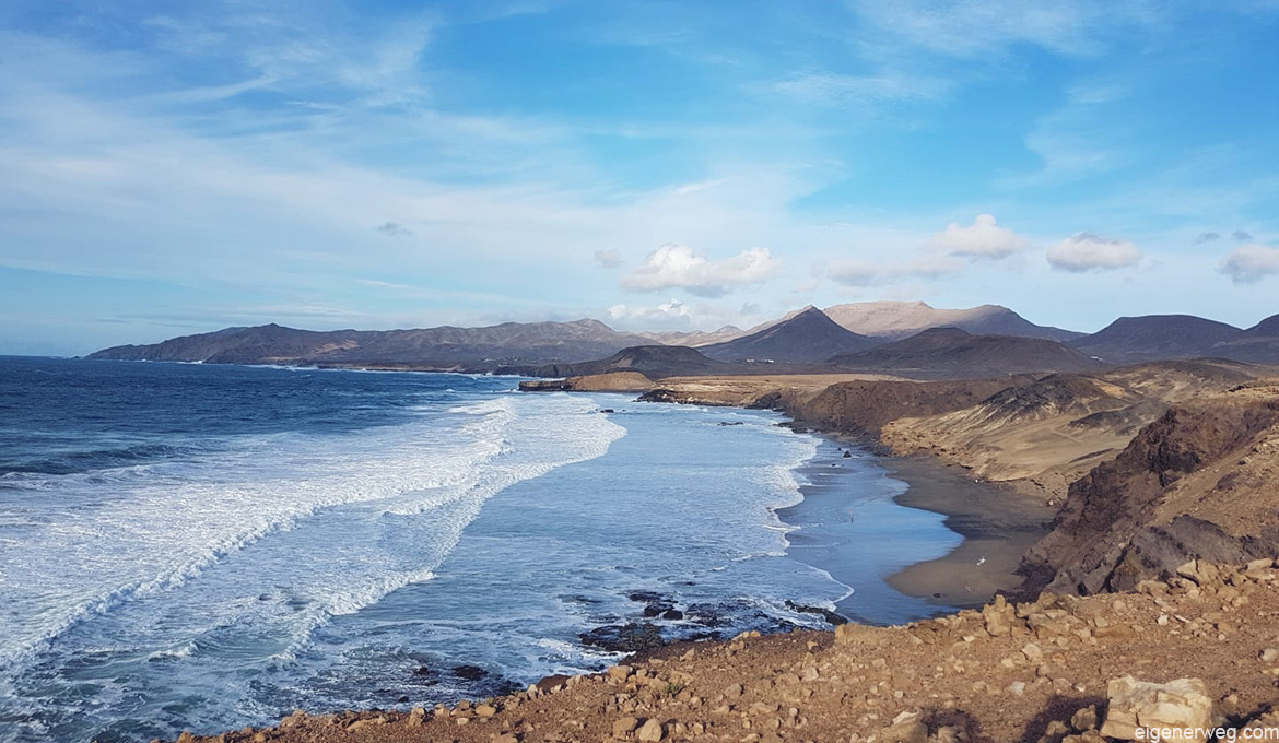 Küste in Fuerteventura - La Pared