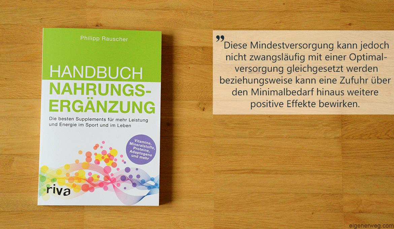 Handbuch Nahrungsergänzung