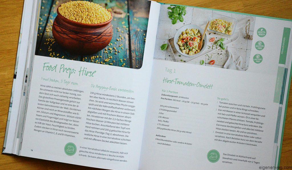 Buch über Meal Prep