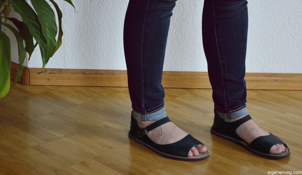 elegante Barfussschuhe Sandalen