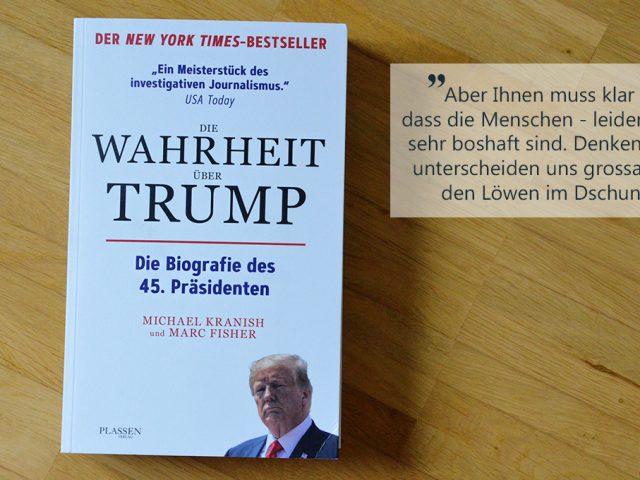 Buchbesprechung: Die Wahrheit über Trump