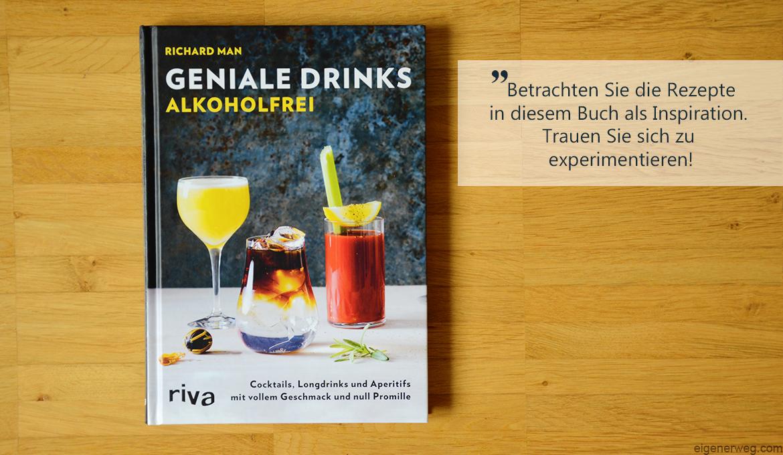 Buchbesprechung: Geniale Drinks alkoholfrei