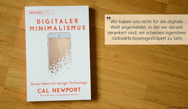 Buchbesprechung: Digitaler Minimalismus