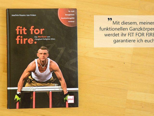 Buchbesprechung: fit for fire.