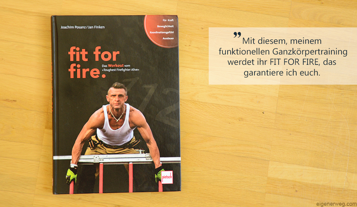 Buchbesprechung: fit for fire.