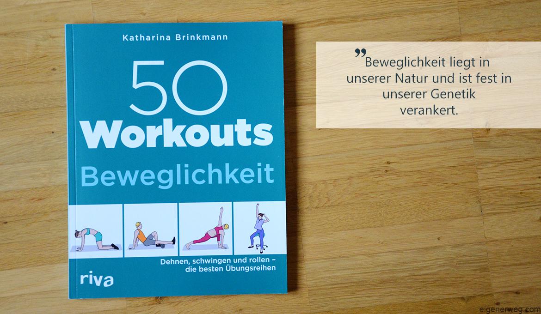 Buchbesprechung: 50 Workouts Beweglichkeit
