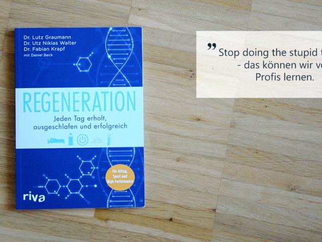 Buchbesprechung: Regeneration & Schlaftagebuch