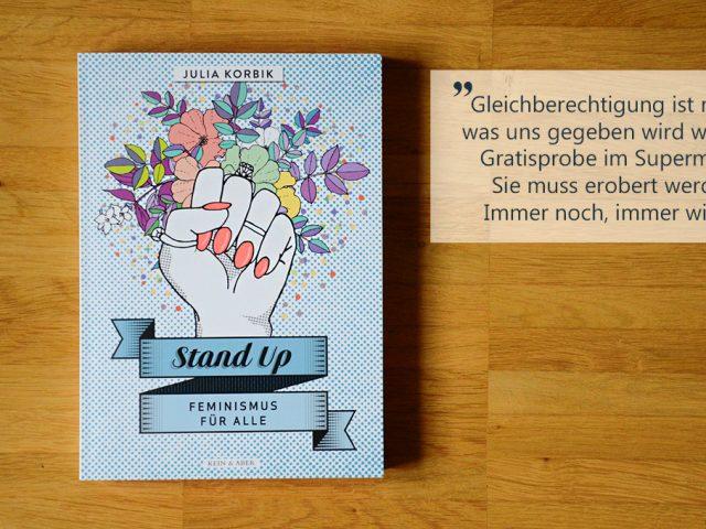 Buchbesprechung: Stand Up – Feminismus für alle