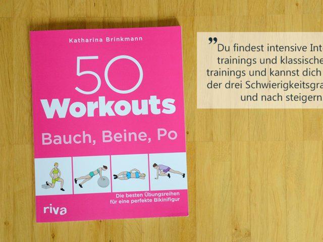 Buchbesprechung: 50 Workouts Bauch, Beine, Po