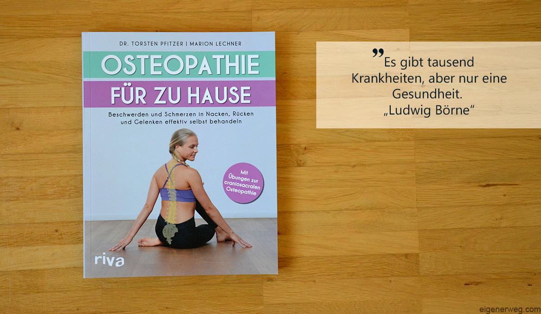 Buchbesprechung: Osteopathie für zu Hause