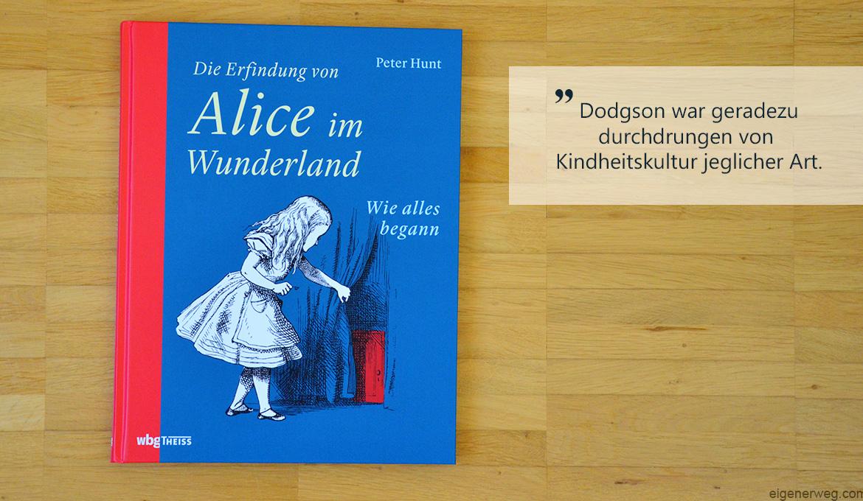 Buchbesprechung: Die Erfindung von Alice im Wunderland